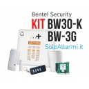 BW30KG - Kit allarme wireless 868 MHz bidirezionale con GSM 3G