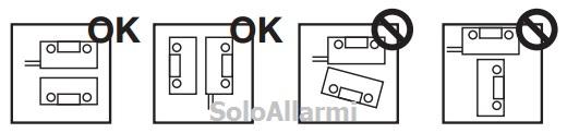 Posizionare i contatti magnetici su porte e finestre - Contatti magnetici per finestre vasistas ...